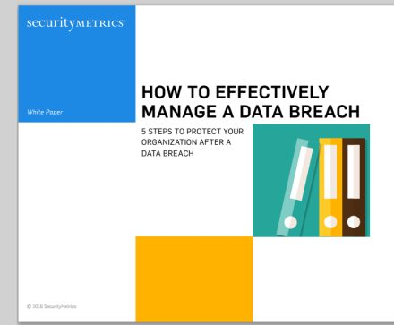 How to Effectively Manage a Data Breach