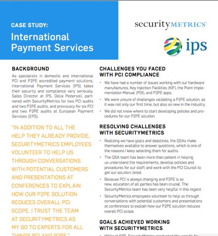 International Payment Services