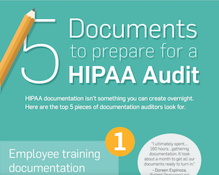 5 Documents to Prepare For a HIPAA Audit