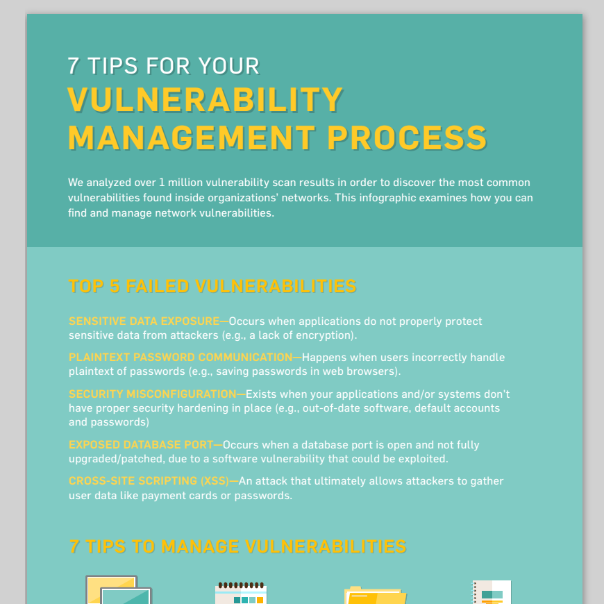 7 Tips for Vulnerability management process
