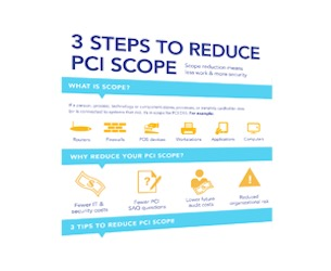 Infographic: Reduce PCI Scope, Reduce Workload