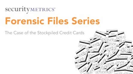 Forensic Files: Case of Stockpiled Credit Cards