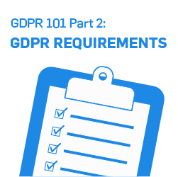 GDPR 101 Part 2: What Are the Requirements of GDPR?