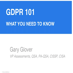 GDPR 101: What You Need to Know