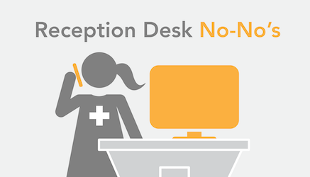 Healthcare Reception Desks: Breeding Ground for HIPAA Compromise