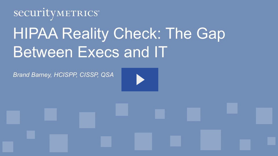 HIPAA Reality Check: The Gap Between Execs and IT