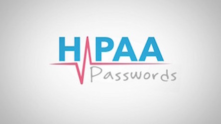HIPAA Snippets - Passwords