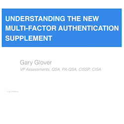 Understanding the PCI Multi-Factor Authentication Supplement