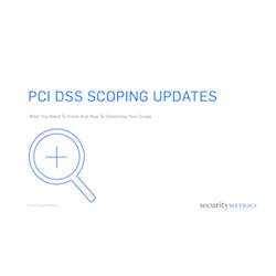 PCI DSS Scoping Updates