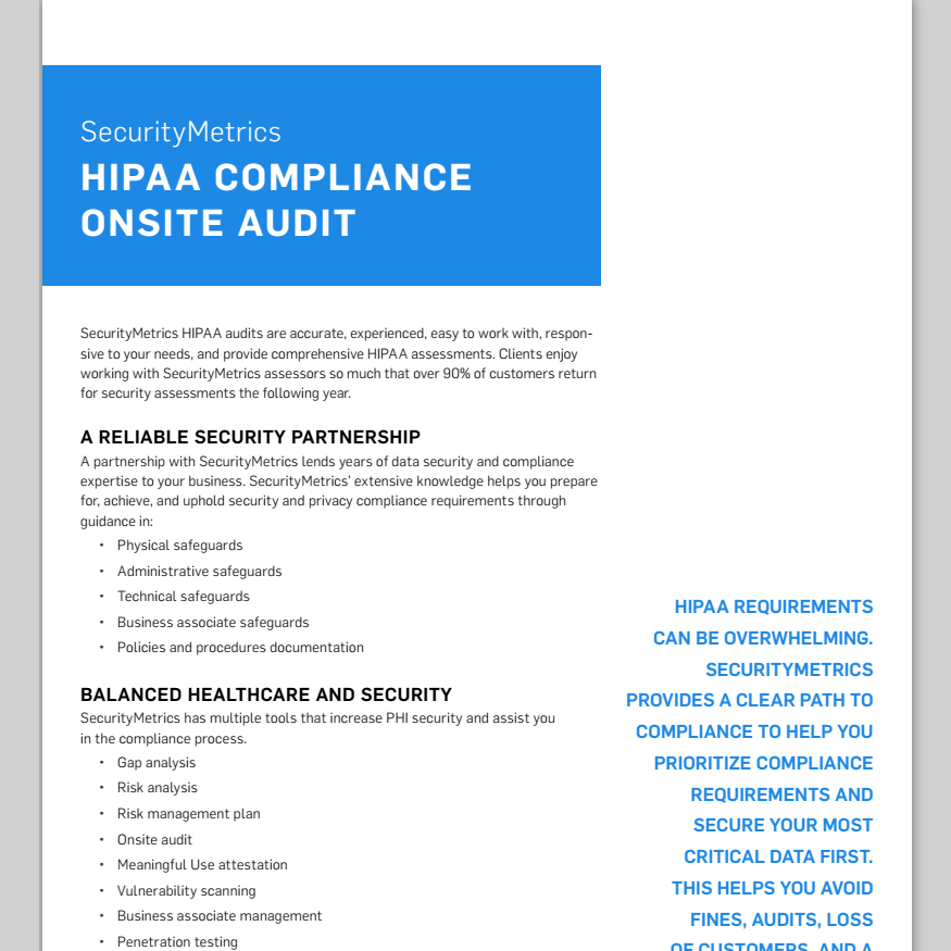 Hipaa Compliance Audit Security Assessments Hipaa Risk Assessment