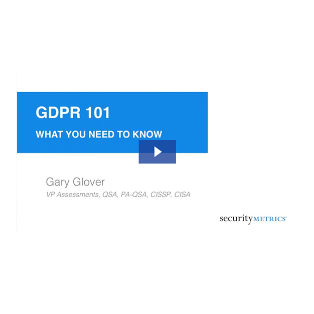 GDPR 101 What you need to know