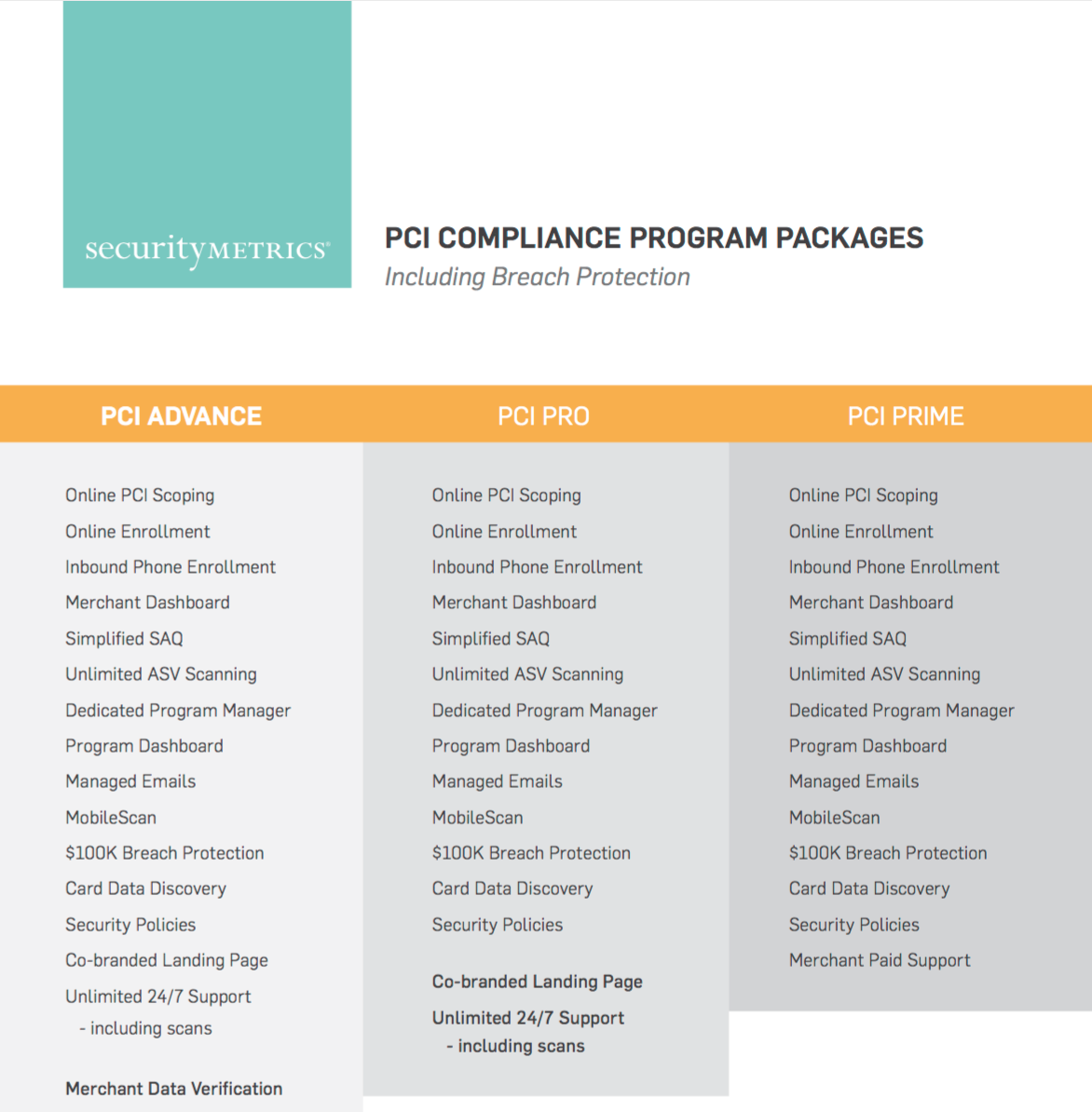 PCI Level 4 Program Guide